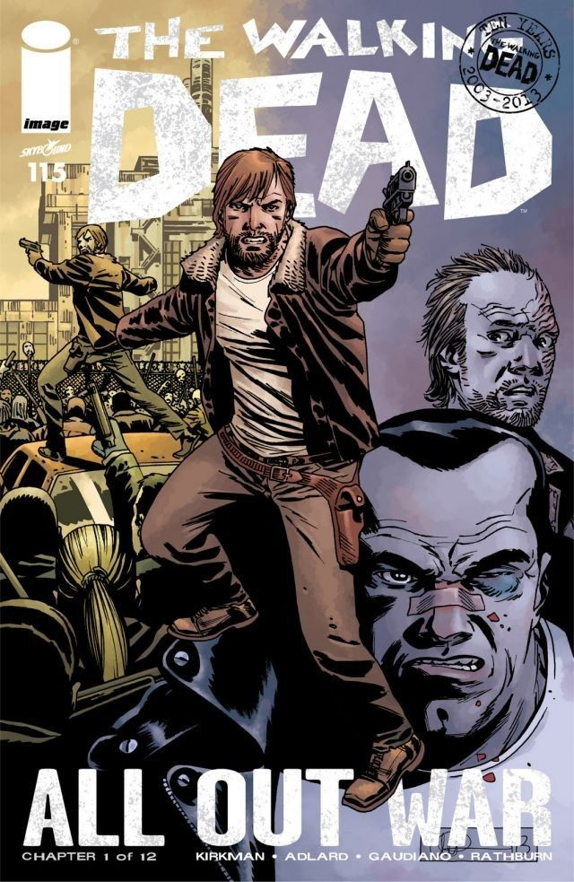 Walking Dead #1 15th Anniversary Granite City Comics Retailer Exclusive Variant