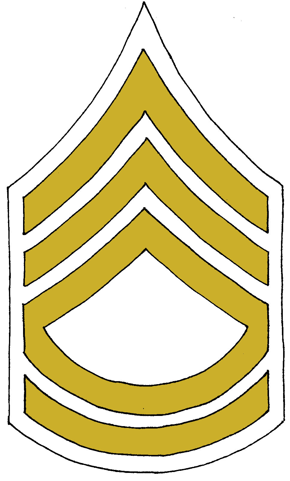 Sergeant Major Chevron Staff Sergeant Master Sergeant PNG, Clipart, Angle,  Black And White, Corporal, Drill Instructor,