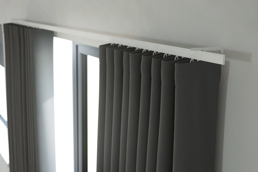Perfect Curtain Track Fineline Perfect Pleat Curtain Track Qeutako
