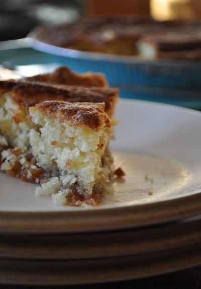 Snickerdoodle pie. Snickerdoodle pie. Snickerdoodle pie. I could say that all day-- I just love the way it sounds. In fact, I love the way it tastes too. Imagine the flavor of your favorite snickerdoodle cookie but with the texture of a really moist cake, baked in a buttery, flakey pie crust and