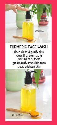 Photo of TURMERIC BRIGHTENING FACE WASH | Turmeric Beauty Recipes | Tumeric Face Mask For Acne | Turme… #tumericrecipesskin