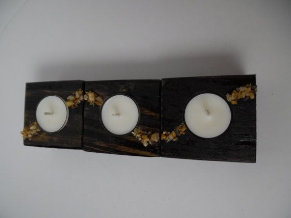 Hey, I found this really awesome Etsy listing at https://www.etsy.com/listing/265558296/rustic-wood-candle-holders-stone-in-wood