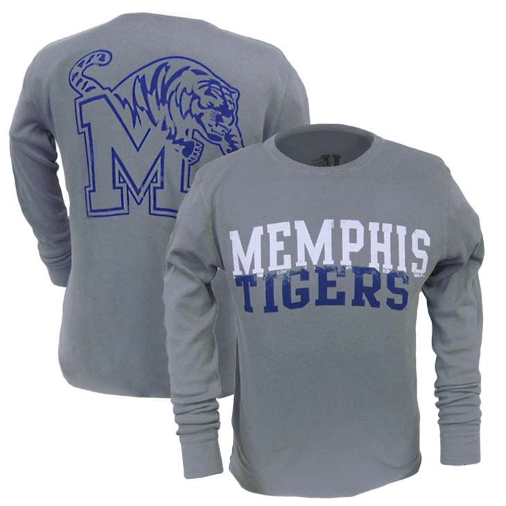 Long Sleeve Memphis Tigers Thermal T-Shirt | Tiger Bookstore