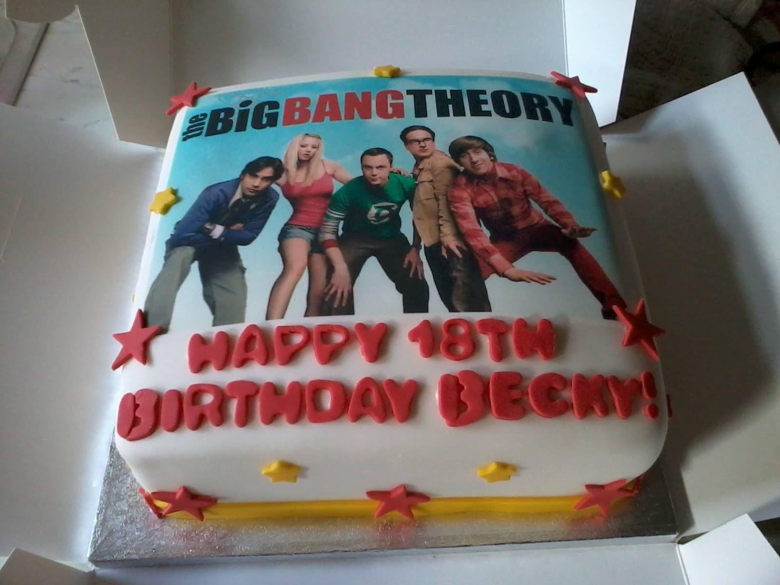 Big Bang Theory Cake My cakes ) Pinterest Big Bang