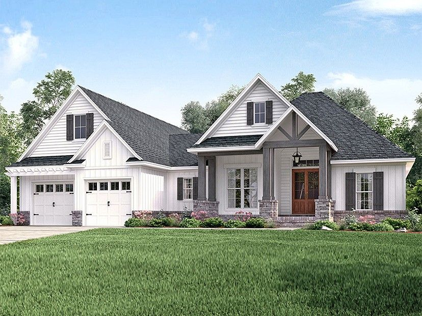 ranch house plan home plan with 2073 square feet and 3 bedrooms from dream home source