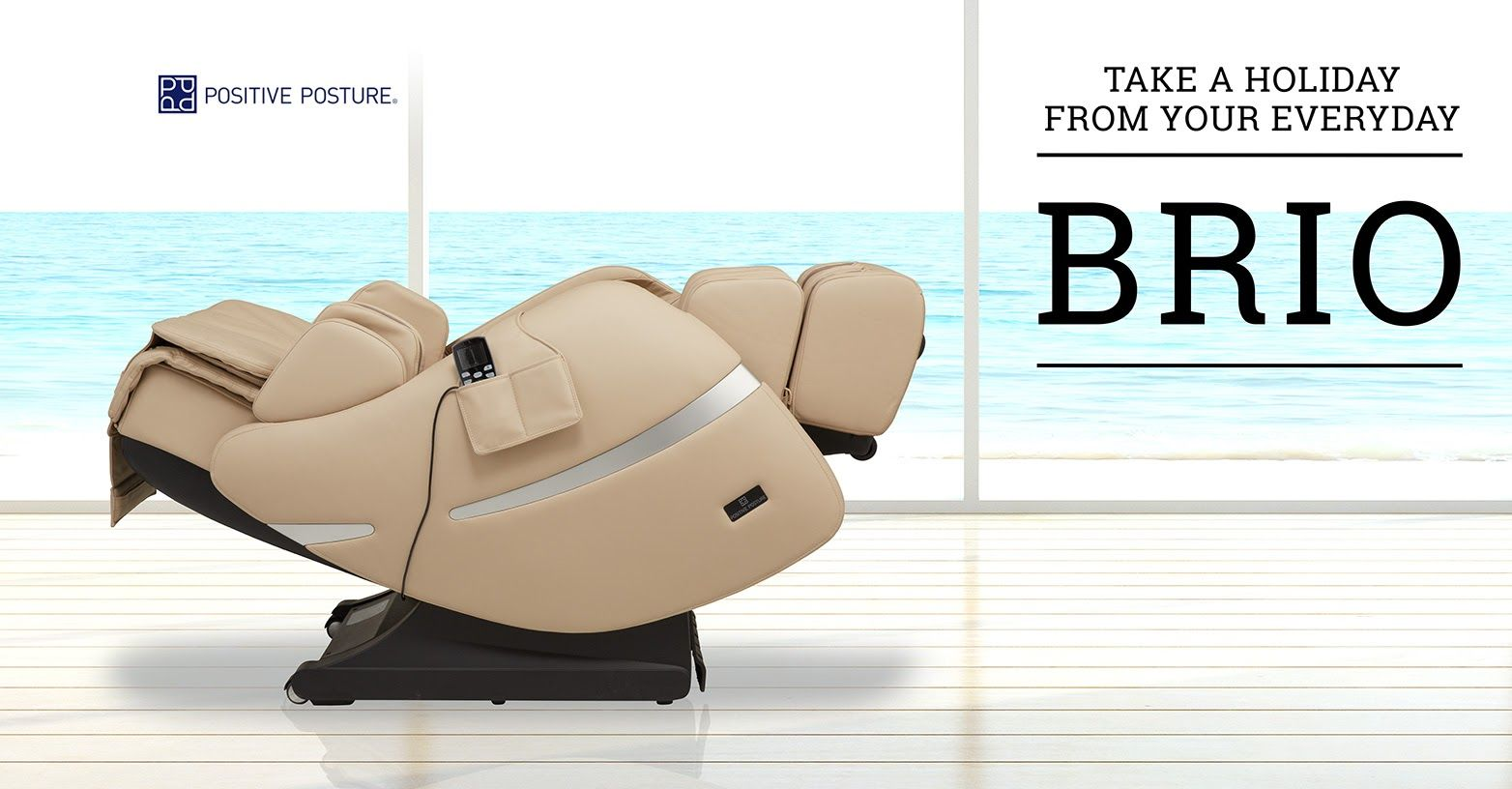 Relaxing holiday VS Relaxing Massage Chair