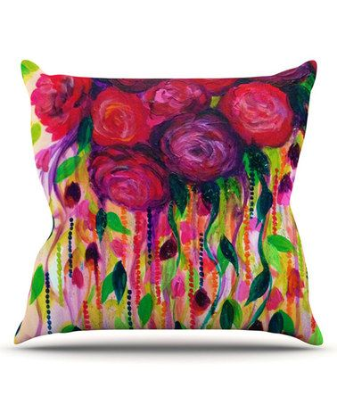 Another great find on #zulily! Roses are Red Throw Pillow #zulilyfinds