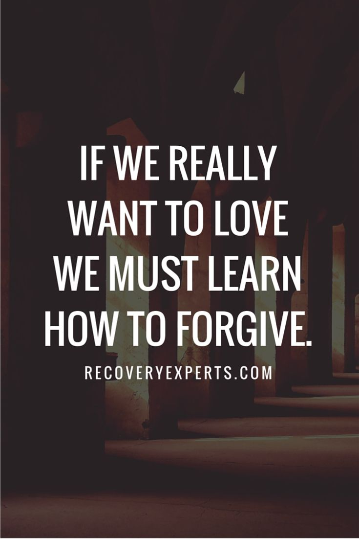 Love And Forgiveness Quotes Inspirational Quotes If We Really Want To Love We Must Learn How