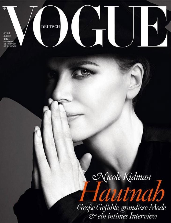 Vogue Germany August 2013 Covers (Vogue Germany)
