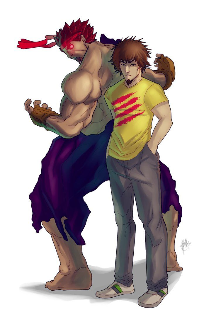 Daigo Umehara And Evil Ryu By Darroldhansen On Deviantart Ryu Street Fighter Street Fighter Evil