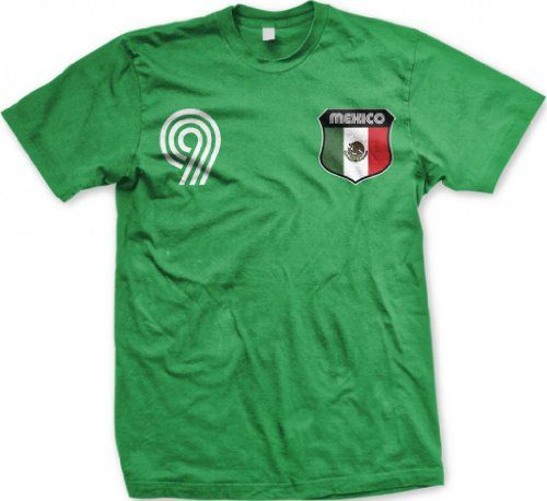 Mexico Crest International Retro Soccer Mens T-shirt, Mexican National Pride Mens Shirt, Large, Kelly on http://jersey2014.kerdeal.com/mexico-crest-international-retro-soccer-mens-t-shirt-mexican-national-pride-mens-shirt-large-kelly