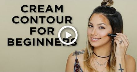 Photo of Cream Contouring for Beginners! #makeup #BeginnerMakeupKit –  Cream Contouring f…
