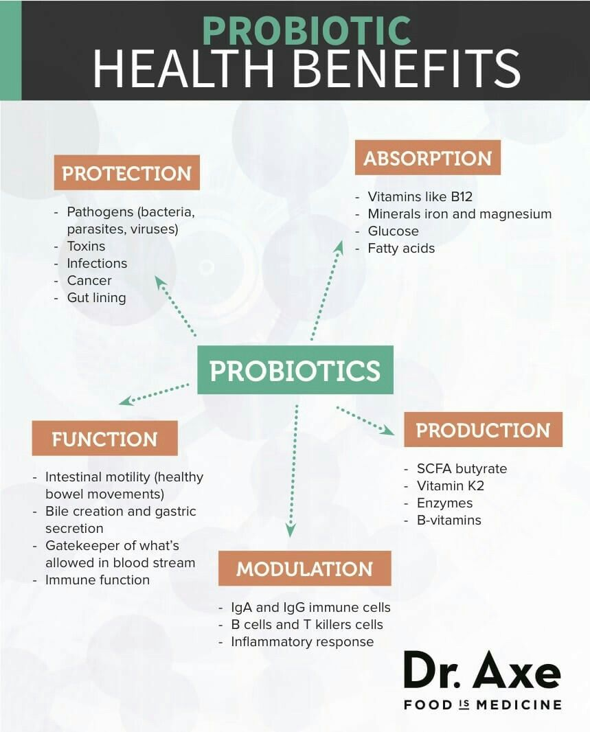 Daily Probiotic Health Benefits Nutrition Gut Health