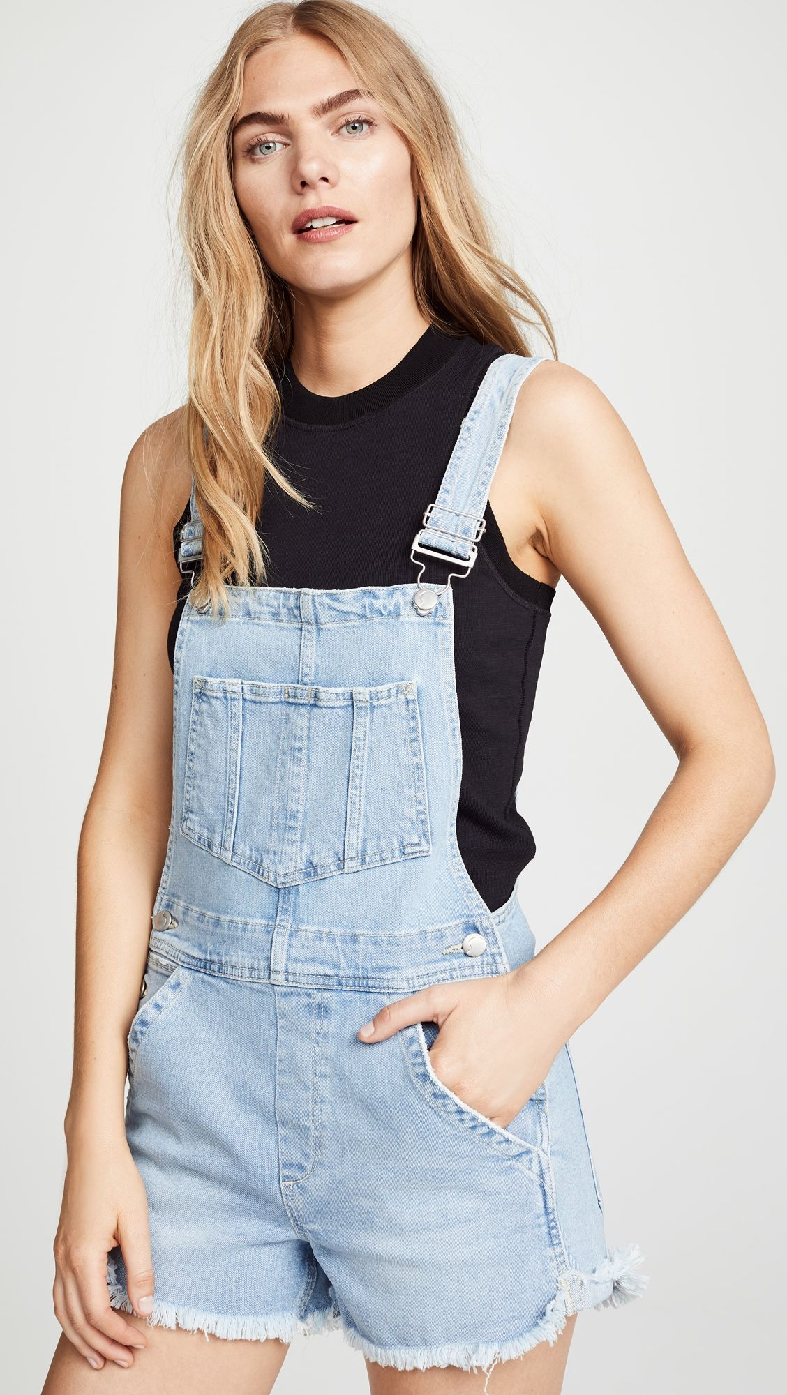 eb6508f8146d Kellsie Short Overalls | Products | Overall shorts, Jean short ...