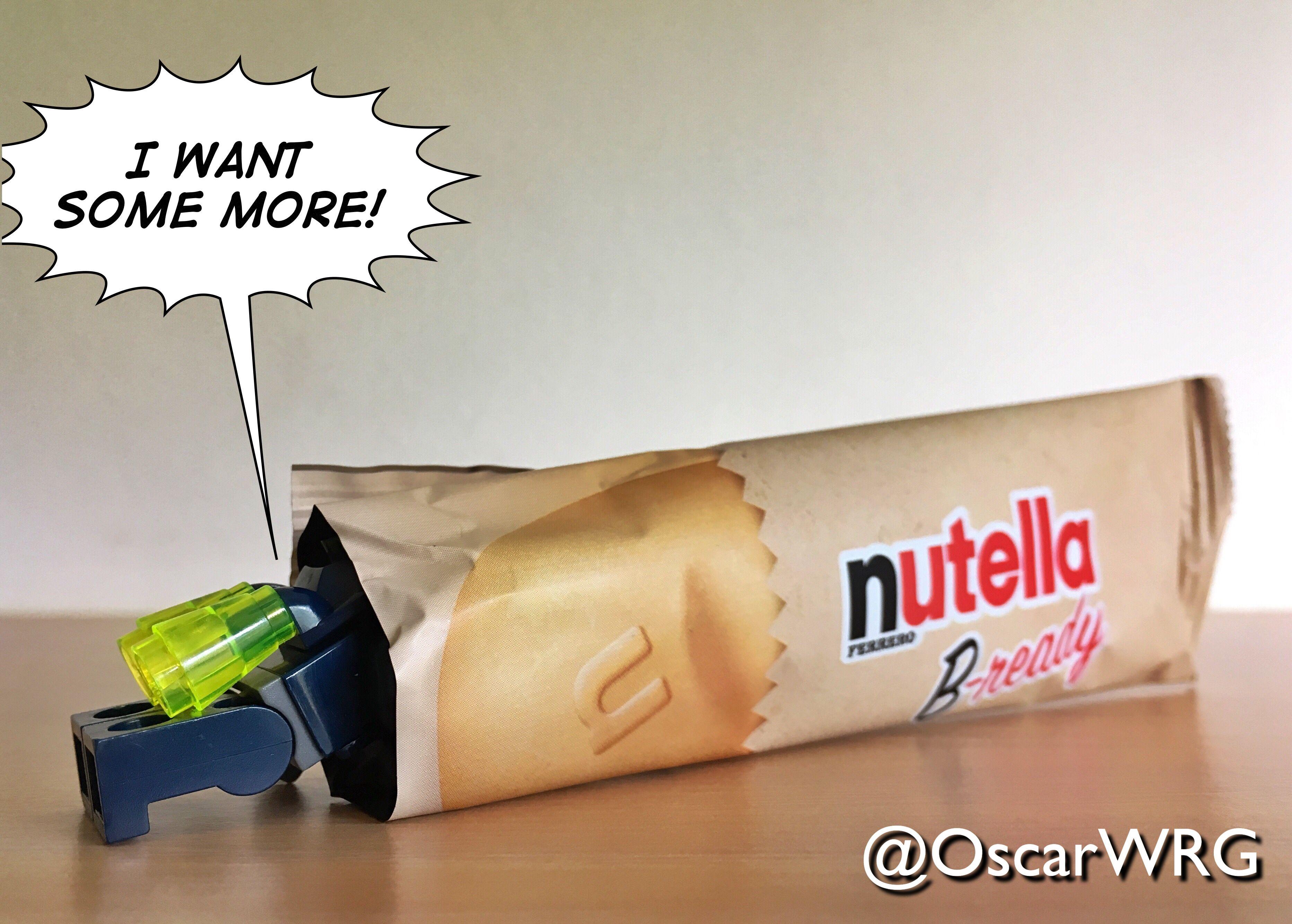 #LEGO_Galaxy_Patrol #LEGO #NutellaBready #Nutella #Bready @lego_group @lego @bricksetofficial @bricknetwork @brickcentral @nutella