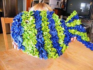 Tissue Paper Fish Craft