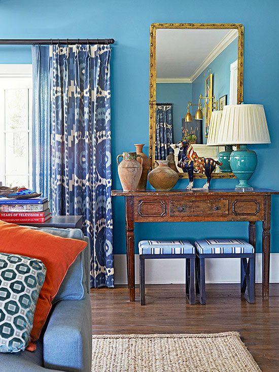 Blue Paint Colors   Blue colors, Color blue and Wood furniture
