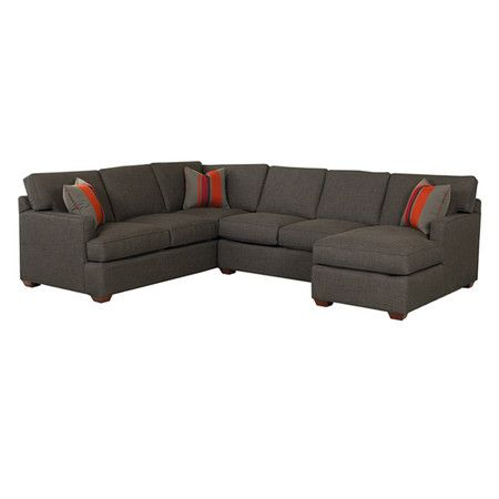 Gray Sectional Sofa Looks Like The We Just Got Super Comfy Derek Probably Already Ned On It