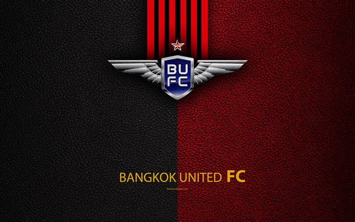 Download Wallpapers Bangkok United FC, 4K, Thai Football