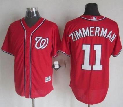 premium selection 819e6 abb5b Washington Nationals Jersey 11 Ryan Zimmerman Red New Cool ...