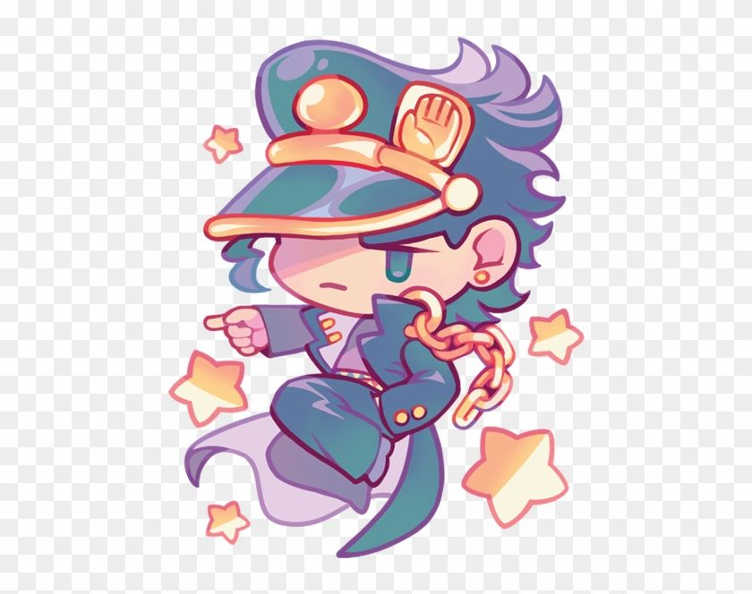 Find Hd Cm Jotaro Kujo Jojo S Bizarre Adventure Chibi Hd Png Download To Search And Down In 2021 Jojos Bizarre Adventure Jotaro Jojo Anime Jojo Bizzare Adventure