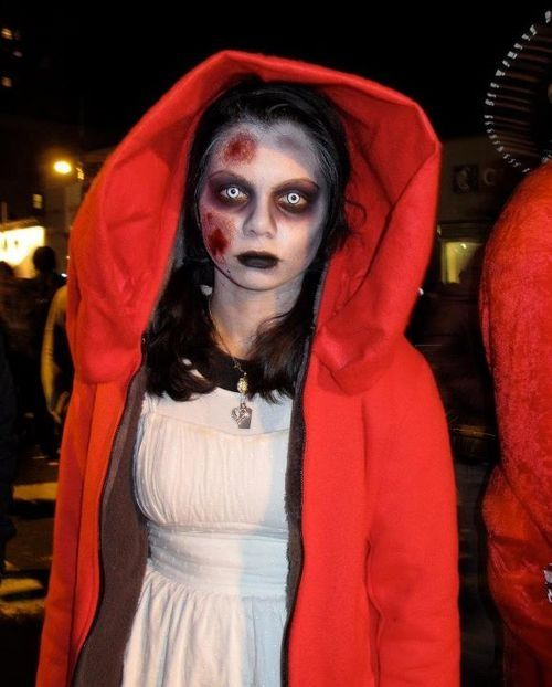 13 Zombie Disney Princesses | Red riding hood, Hoods and Costumes