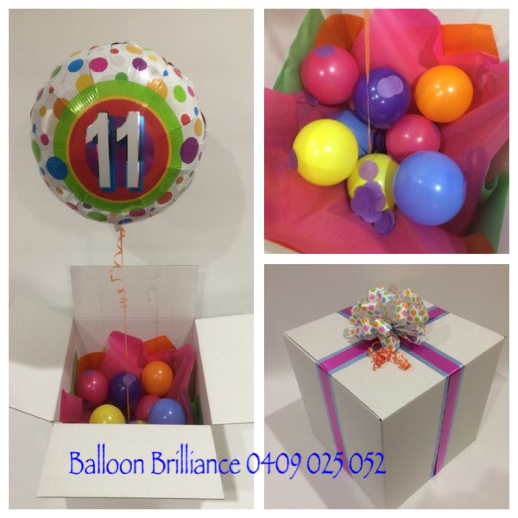Happy 11th Birthday Wishes Ballooninabox Surpriseinabox Ballooninaboxdelivery 11thbirthdayballoons Sendballoonscanberra Balloondeliverycanberra Act