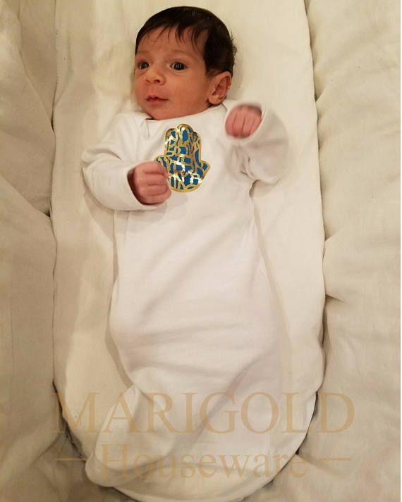 81c9335c12bf he Baby Boy Shema Bris Gown especially designed for the Jewish ...