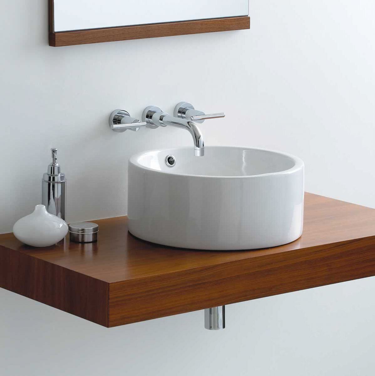 Sink Countertop Bathroom: Phoenix Susan Circular Counter Top Basin VB003. From Www