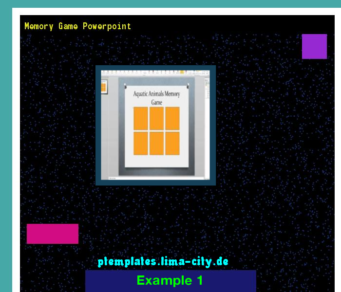 Memory Game Powerpoint Powerpoint Templates   The Best