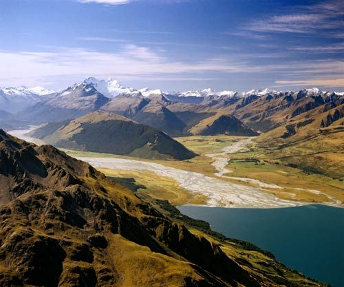 New Zealand Mount Aspiring