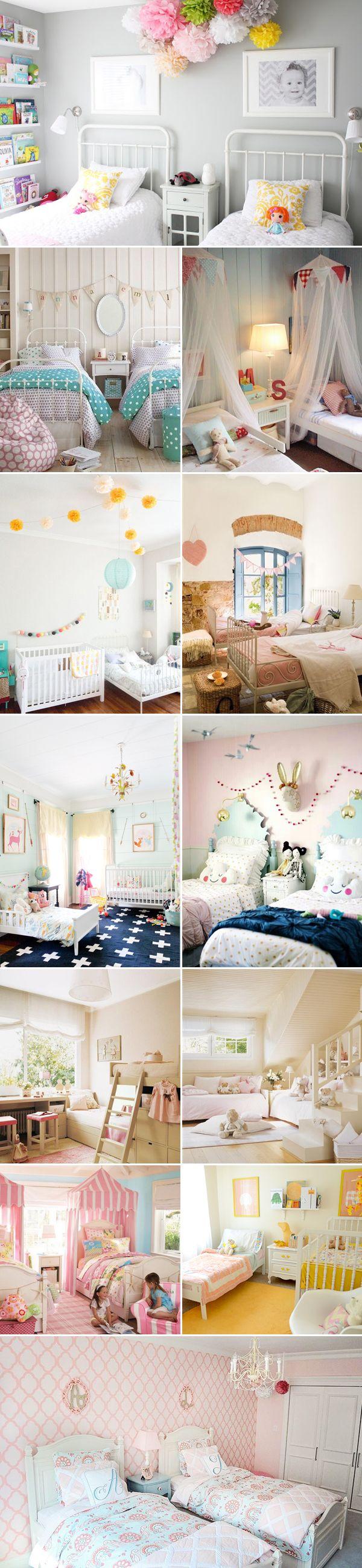 29 shared bedrooms ideas for children la habitaci n de for Gemeinsames kinderzimmer