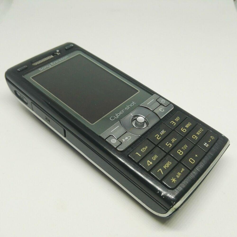 Sony Ericsson K800i Black Mobile Phone Unlocked Good Condition Sonyericsson Bar