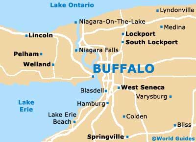 Buffalo New York Bing Images Buffalo New York And Surrounding - Lake erie on us map