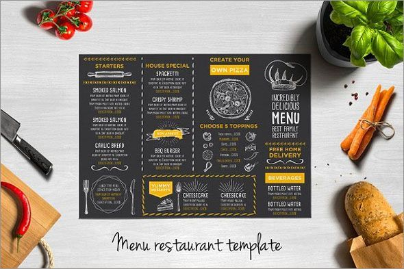 Adobe Template Board Menu