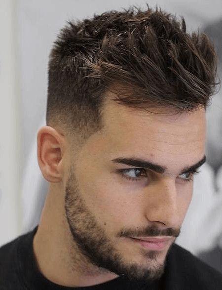 Die Neuesten Trends Herren Frisur 2018 Kurzhaarfrisuren Manner