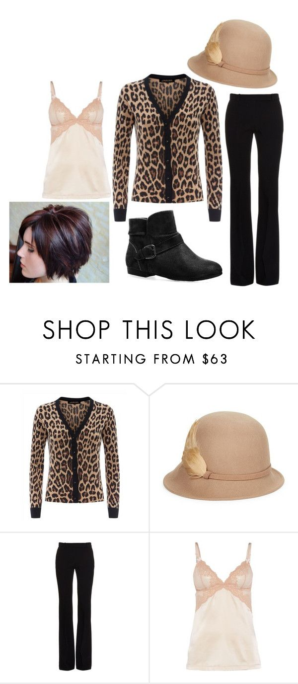 """""""Untitled #972"""" by mountain-girl-lynn ❤ liked on Polyvore featuring Jaeger, Betmar, Alexander McQueen, Mimi Holliday by Damaris and Avenue"""