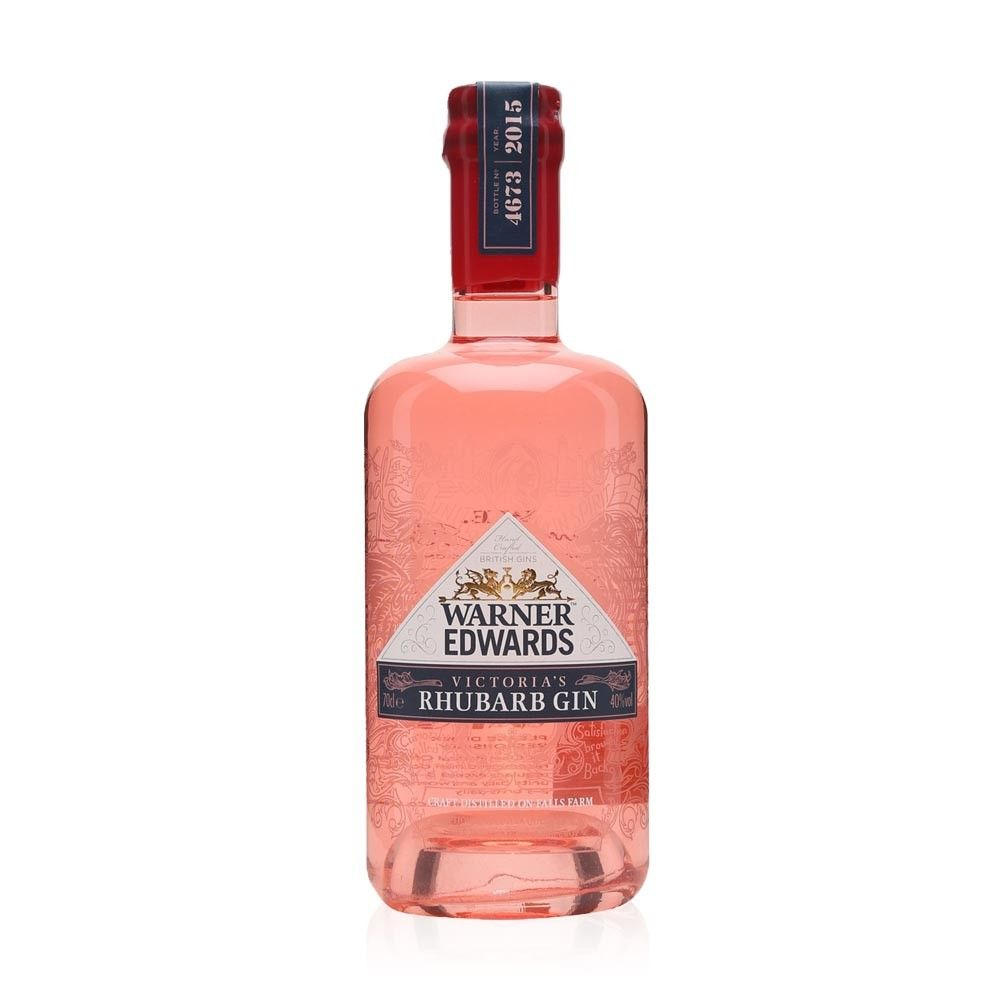 Warner Edwards Rhubarb Gin. mix with fever tree