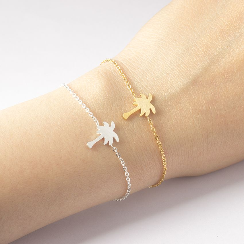 bracelet s.steel femme
