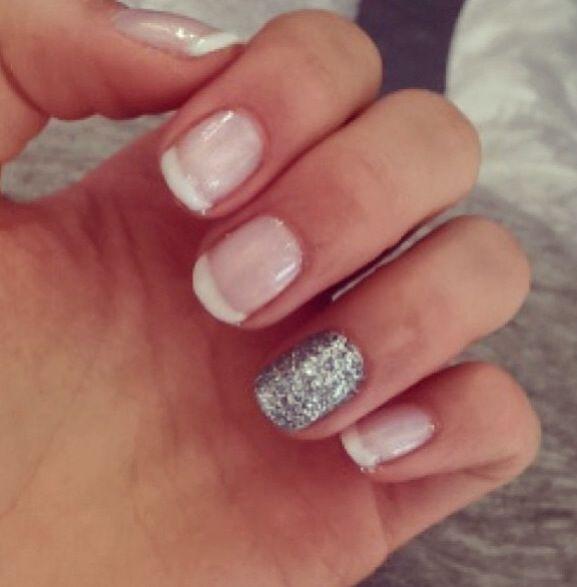 Glittery girl.