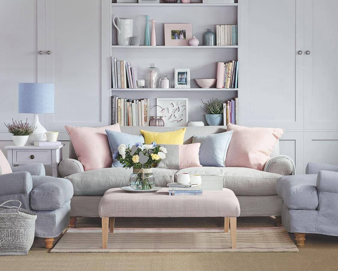 Marvelous Pastel Interior Design Pastel Living Room House And Home Magazine Living Room Designs #pastel #coloured #living #room