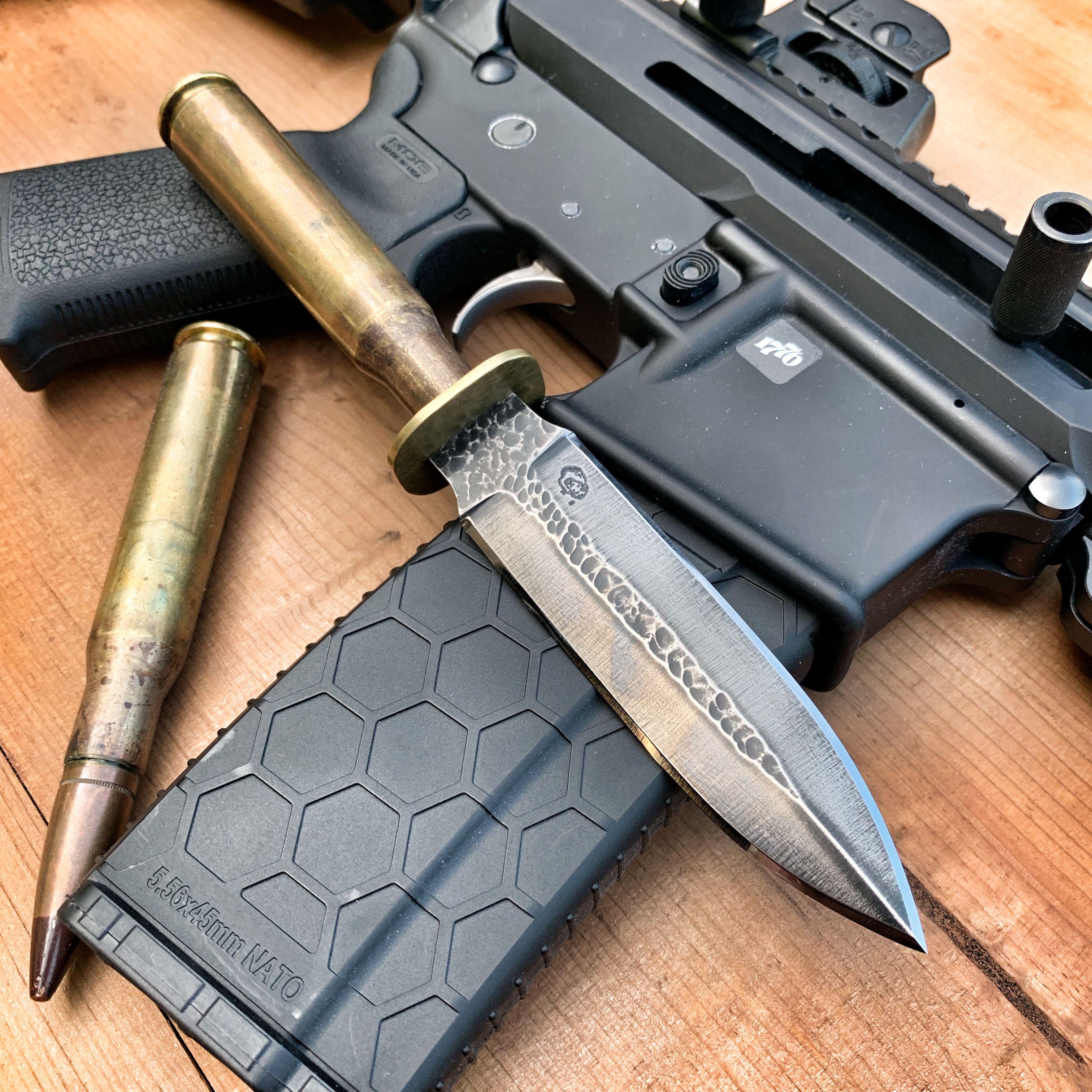 Lion S Den Blades 50cal Dagger Handcrafted Knife Knife Design 1095 Steel