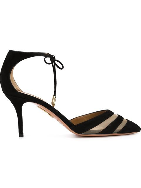 Shop Aquazzura 'Mat' pumps in ISABEL TIMON from the world's best independent boutiques at farfetch.com. Shop 400 boutiques at one address.
