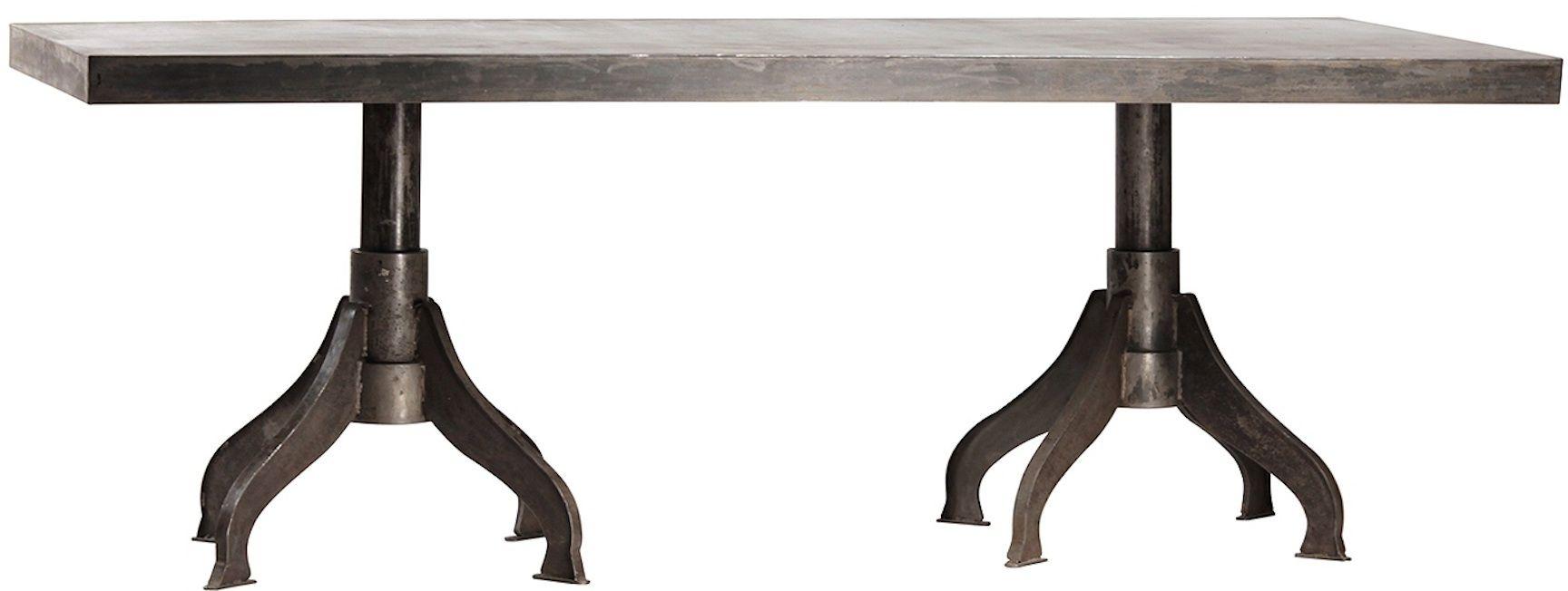 Custom Industrial Metal Furniture Designs Handmade In Los Angeles  We Build Dining  Room Tables,