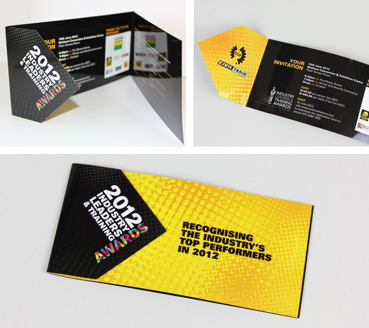 Civil Contractors Federation Corporate Event Branding Invitation