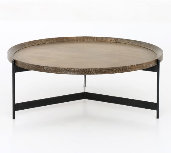 Norcross Coffee Table Round Wood Coffee Table Coffee