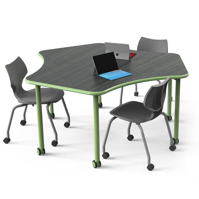 Smith System Sprocket Elemental Table Elsprk Collaborative Desks Worthington Direct