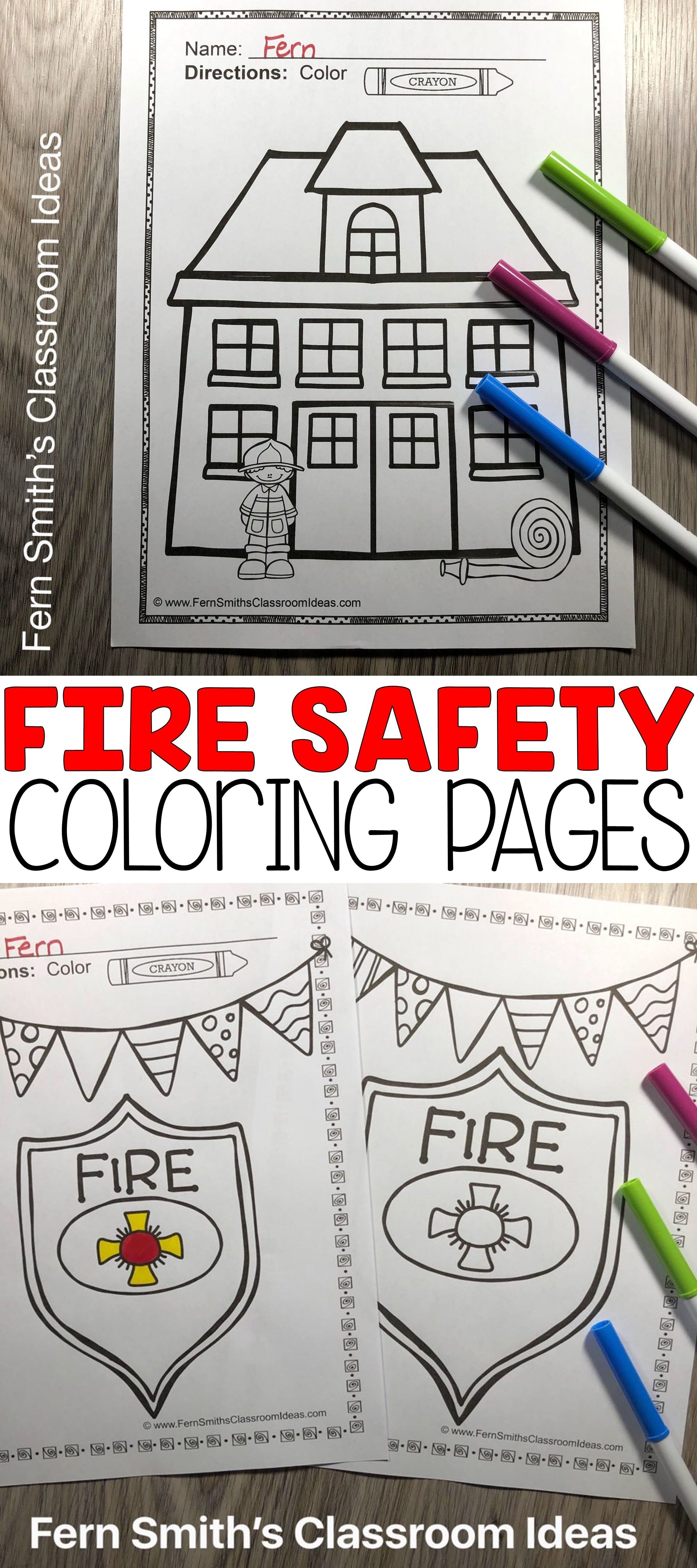 22+ Fire Safety Week 2020 Coloring Pages