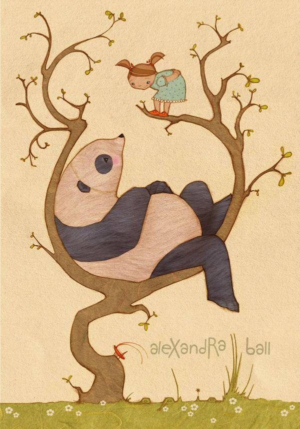 30 illustrations originales autour du panda