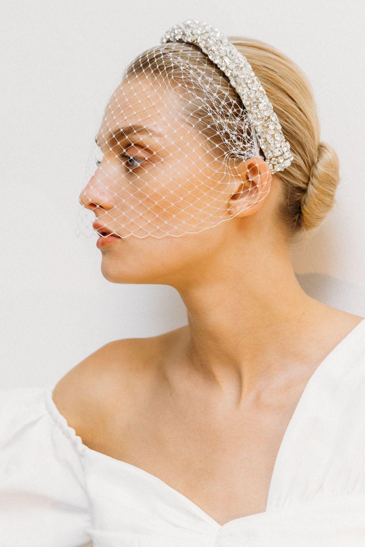 Bridal headbands by jennifer behr in 2020 vintage veil